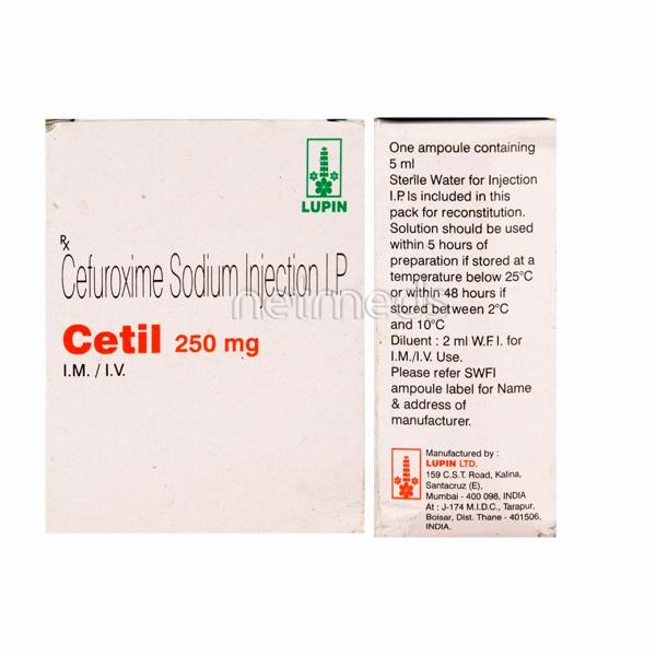 Cetil 250mg Injection
