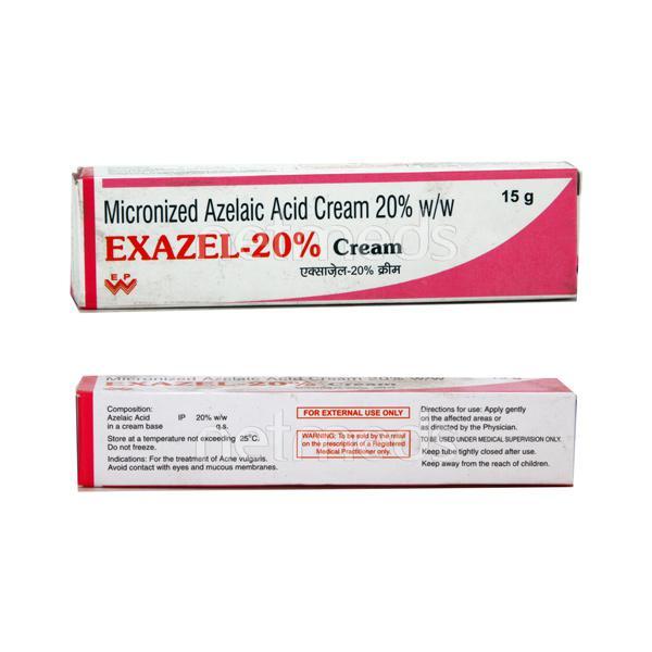 Exazel 20% Cream 15gm
