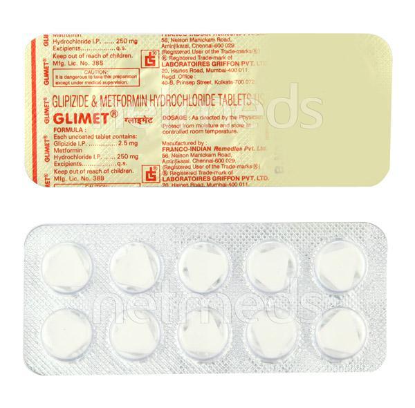 Glimet Tablet 10'S