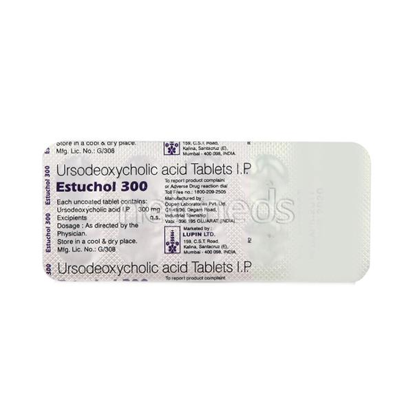 Estuchol 300mg Tablet 10'S