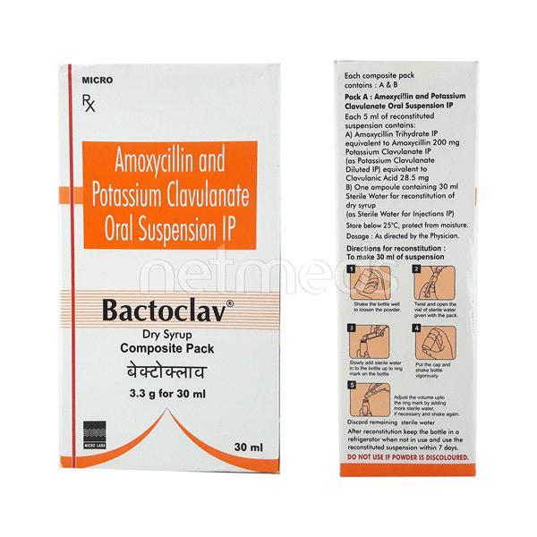 Bactoclav Dry Suspension 30ml