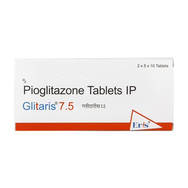 Glitaris 7.5mg Tablet 10'S