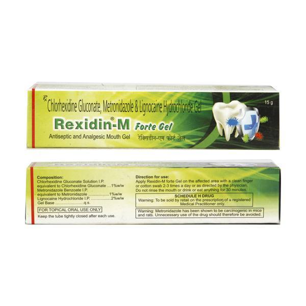 Rexidin M Forte Gel 15gm