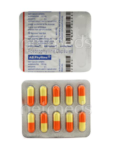 AB Phylline 100mg Capsule 10'S