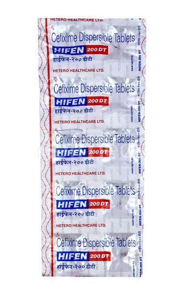 Hifen DT 200mg Tablet 10'S