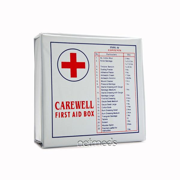 Carewell First Aid Box Type 4