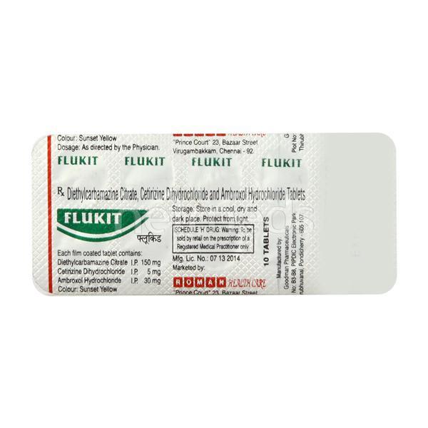Flukit Tablet 10'S