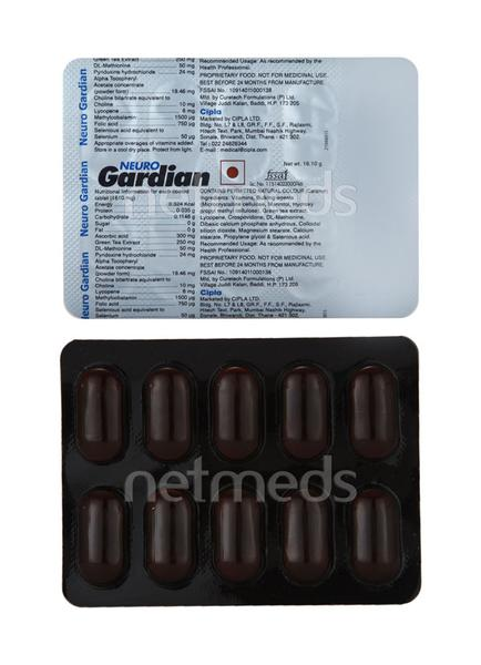 Neuro Gardian Tablet 10'S
