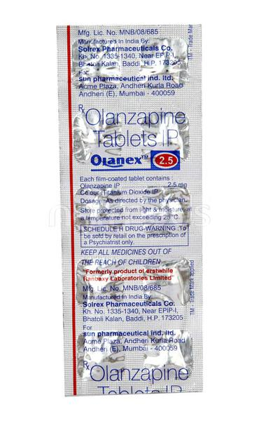 Olanex 2.5mg Tablet 10'S