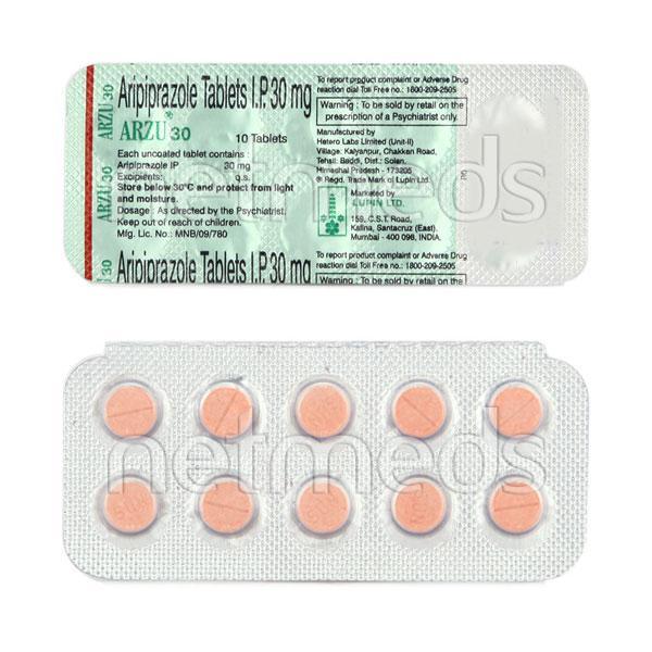 Arzu 30mg Tablet 10'S