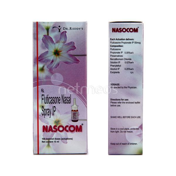 Nasocom Nasal Spray 10ml
