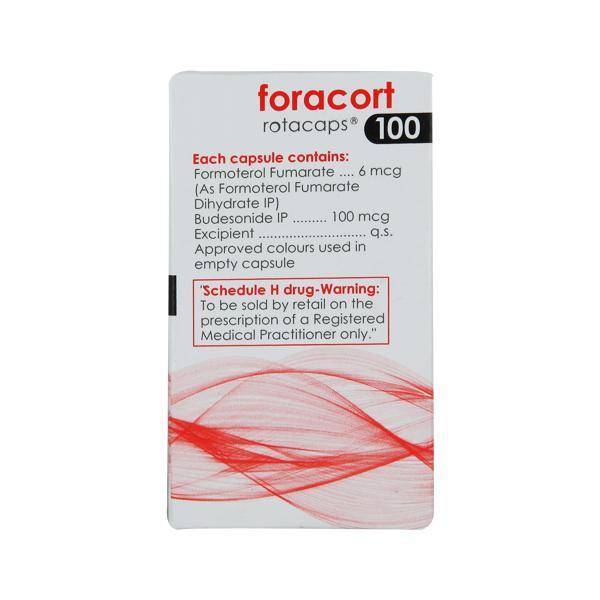 Foracort 100mcg Rotacap 30'S