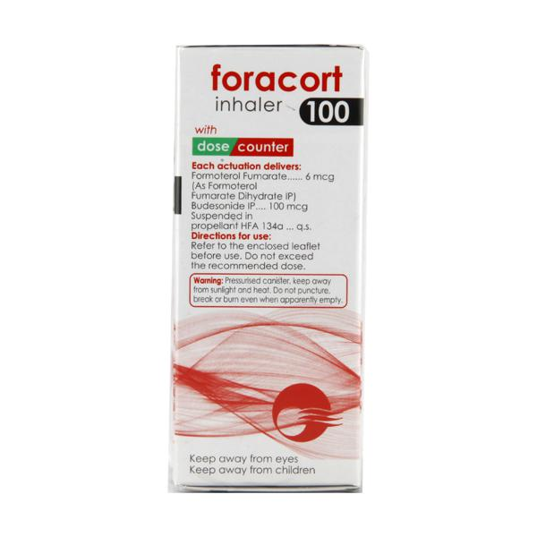 Foracort 100mcg Inhaler 120Md
