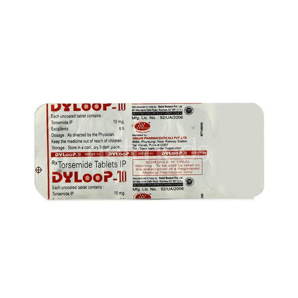 Dyloop 10mg Tablet 10'S
