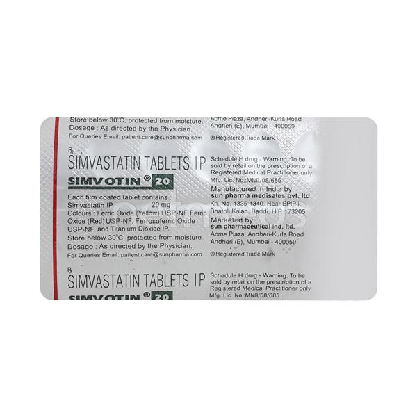 Simvotin EZ 10 mg or 10mg eye