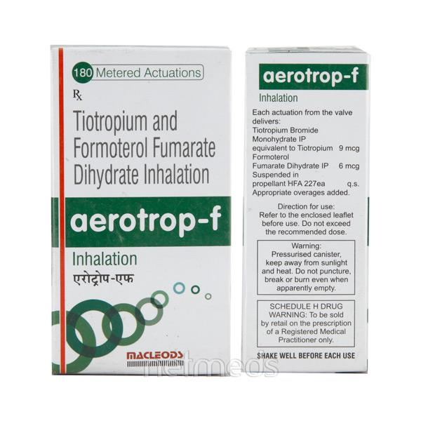 Aerotrop F Inhaler 180Md