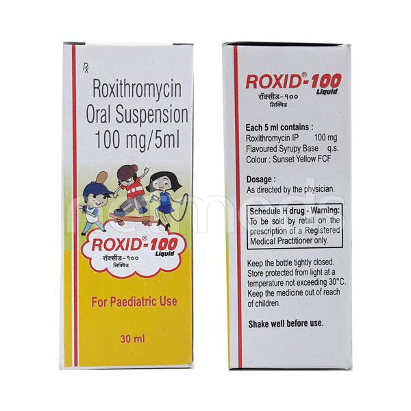 Roxid 100mg Liquid 30ml