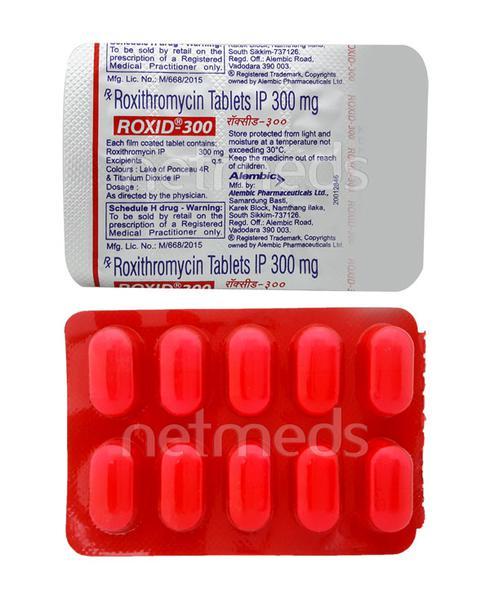 Roxid 300mg Tablet 10'S