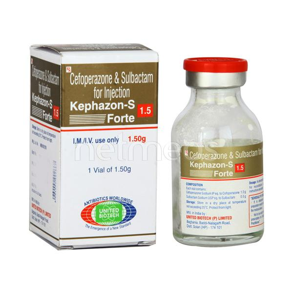 Kephazon S Forte 1.5gm Injection