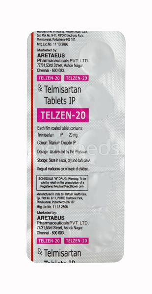 Telzen 20mg Tablet 10'S