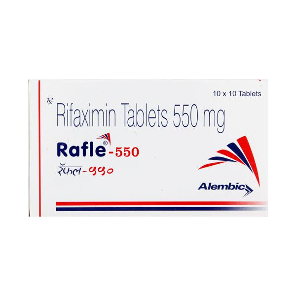 Rafle 550mg Tablet 10'S