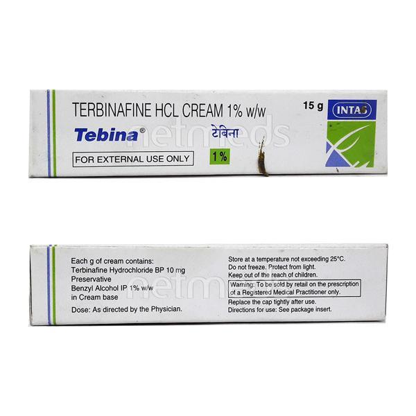 Tebina Cream 15gm