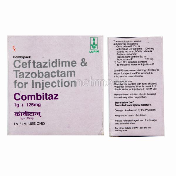 Combitaz 1gm Injection