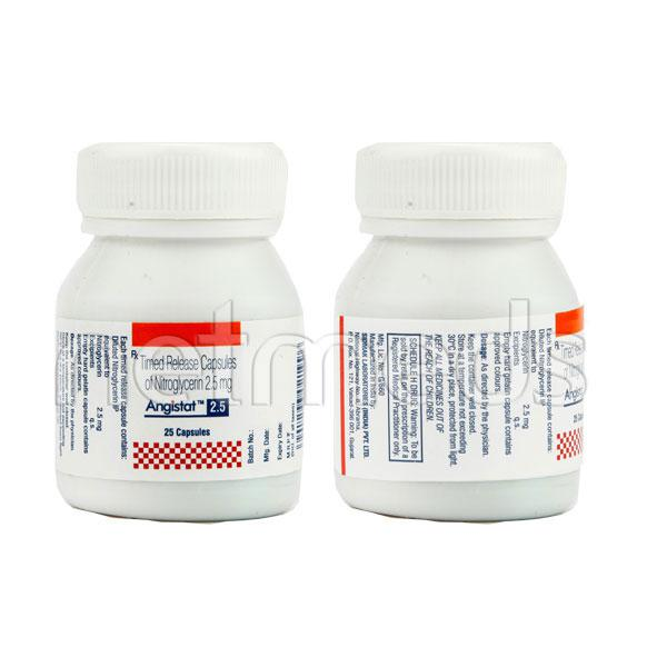 Angistat 2.5mg Capsule 25'S