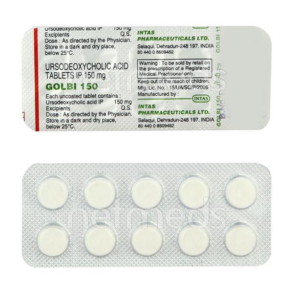 Golbi 150mg Tablet 10'S