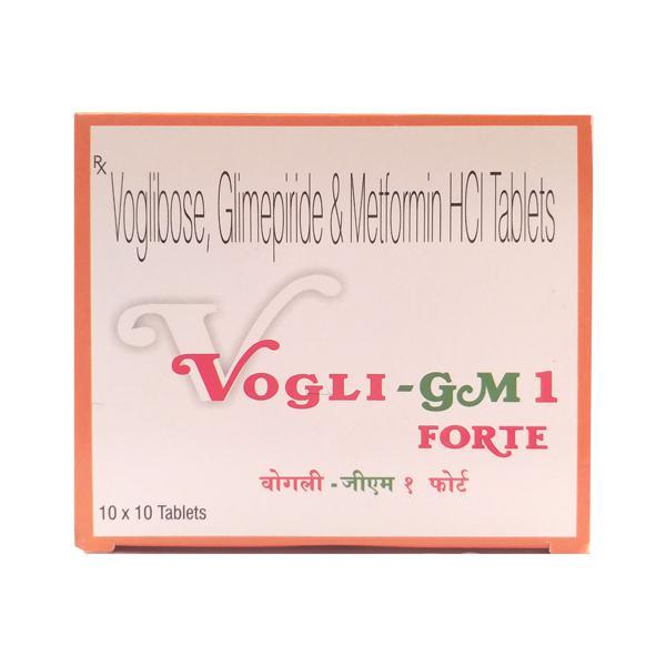 Vogli Gm1 Forte Tablet 10'S