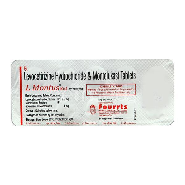L Montus Kid Tablet 10'S
