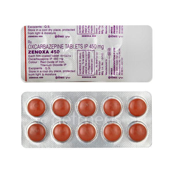 Zenoxa 450mg Tablet 10'S