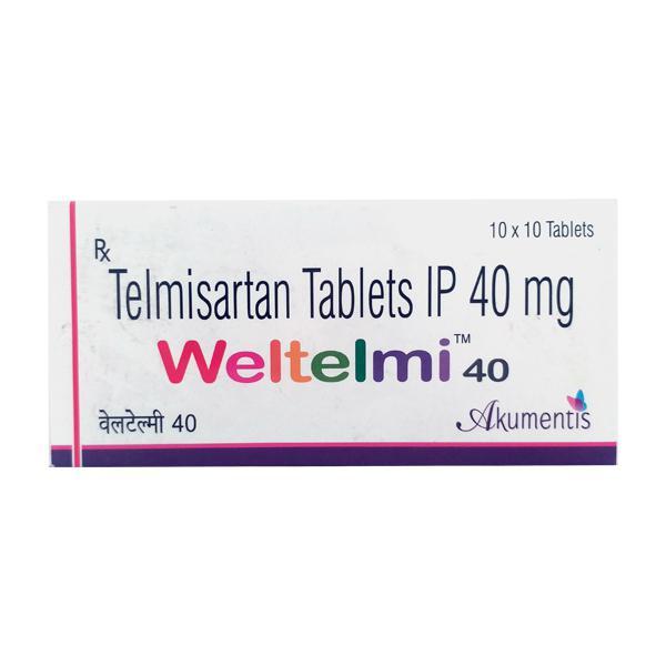 Weltelmi 40mg Tablet 10'S