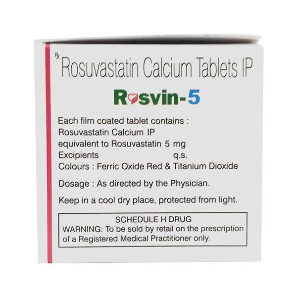 Rosvin 5mg Tablet 10'S