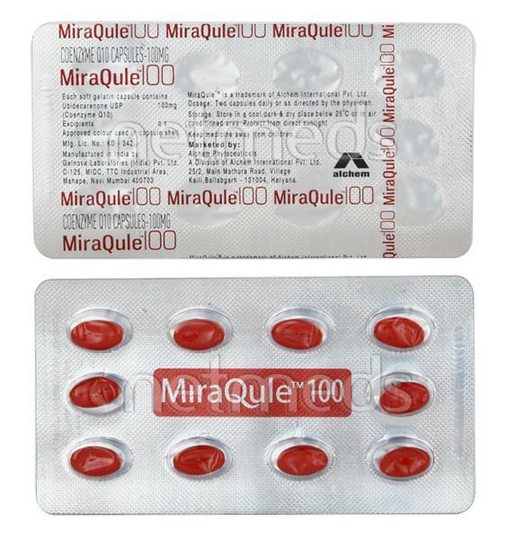Miraqule 100mg Capsule 10'S