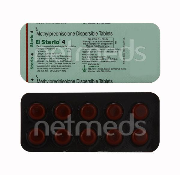 Sterio 4mg Tablet 10'S