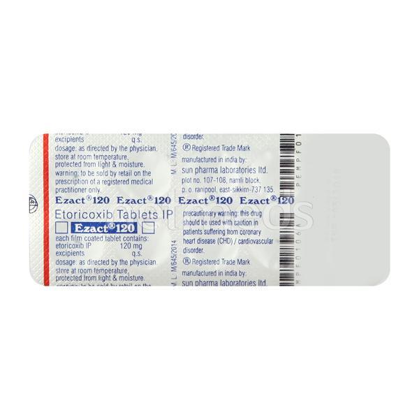 Ezact 120mg Tablet 10'S