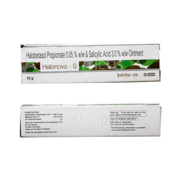 Halonova S Ointment 15gm