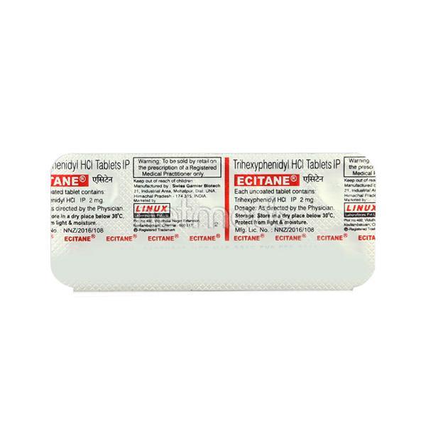 Ecitane Tablet 10'S