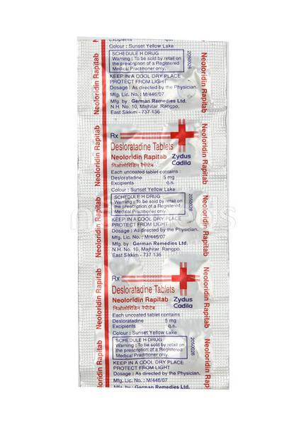 Neoloridin Rapitab Tablet 10'S