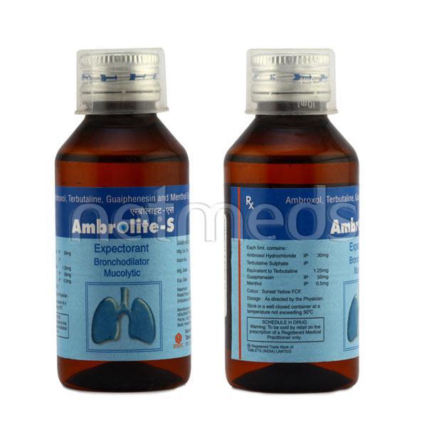 Ambrolite S Syrup 100ml