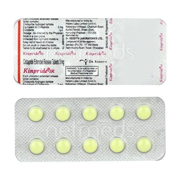Kinpride SR 3mg Tablet 10'S