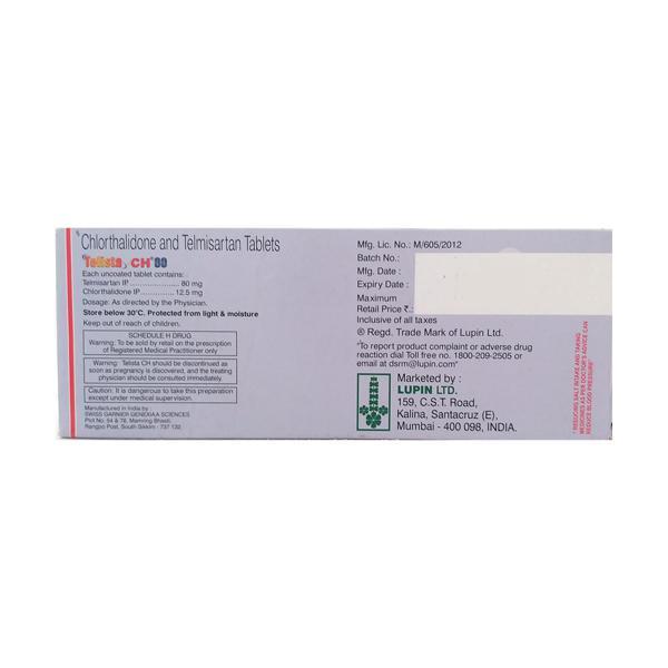 Telista CH 80mg Tablet 10'S