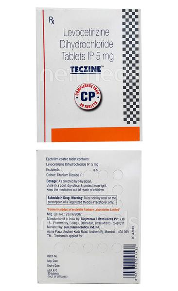 Teczine CP Tablet 30'S