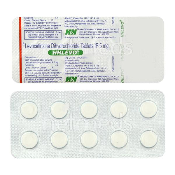 Hhlevo 5mg Tablet 10'S
