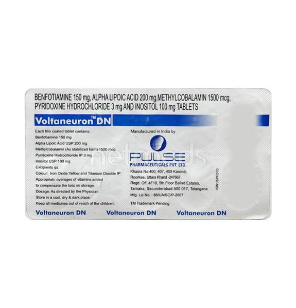 Voltaneuron DN Tablet 10'S