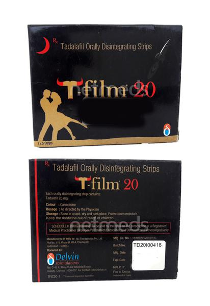 T Film 20 Strip 5'S