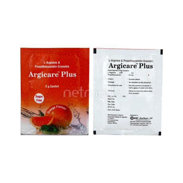 Argicare Plus SUGAR FREE ORANGE FLAVOUR Sachet 5gm