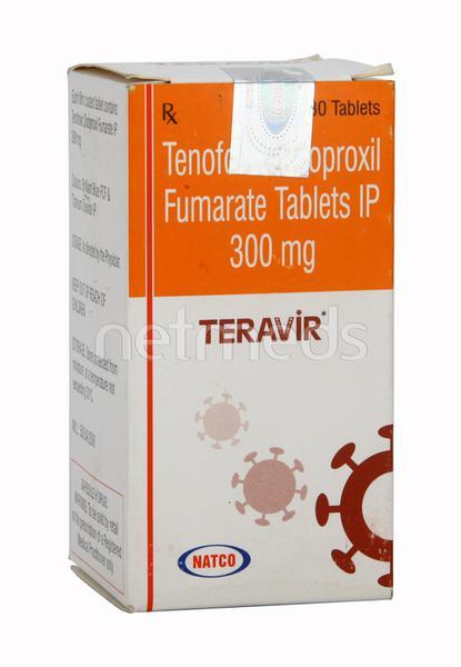 Teravir 300mg Tablet 30'S