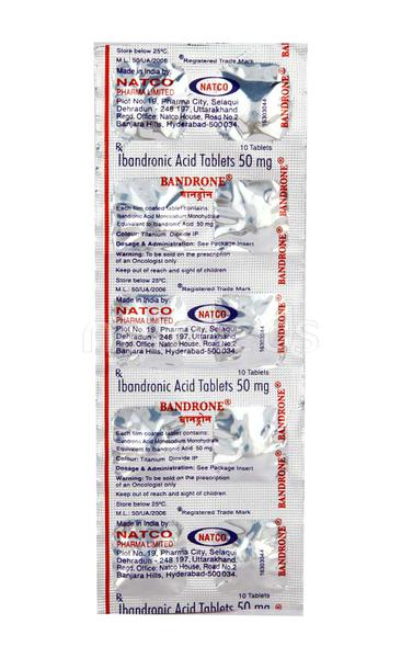 Bandrone 50mg Tablet 10'S